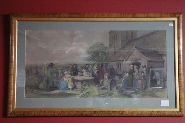 Pair Of Framed Victorian Paints