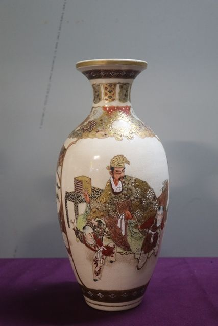 Pair Of Japanese Vases