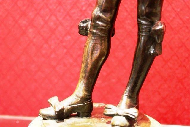 Pair of Bronze Figures
