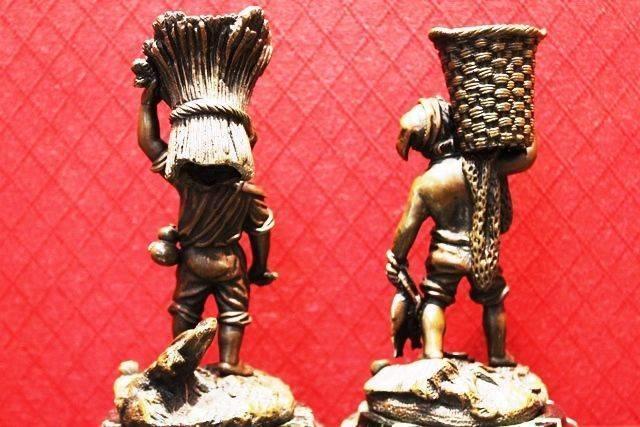 Pair of French Bronzes