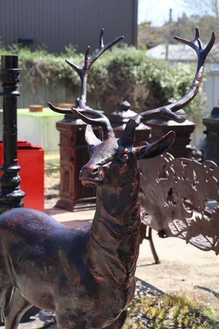 Pair of Quality Deer Garden Figures