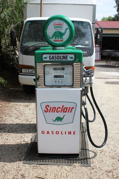 Pair of Stunning Wayne 605s Sinclair Petrol Pumps