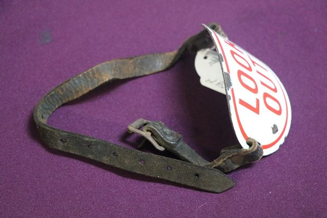 Railway Porters Oval Enamel Arm Band