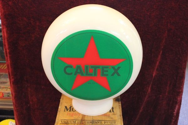 Reproduction Glass Caltex Globe
