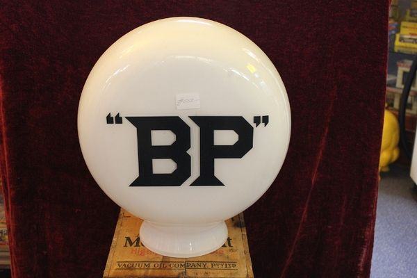 Reproduction Glass Pill Type BP Globe
