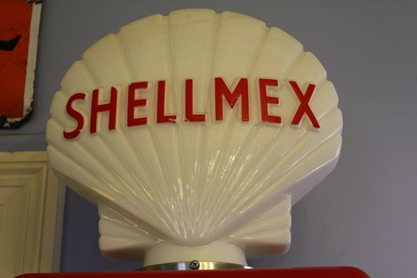 Reproduction Glass Shell Mex Globe