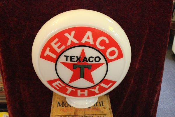 Reproduction Glass Texaco Globe