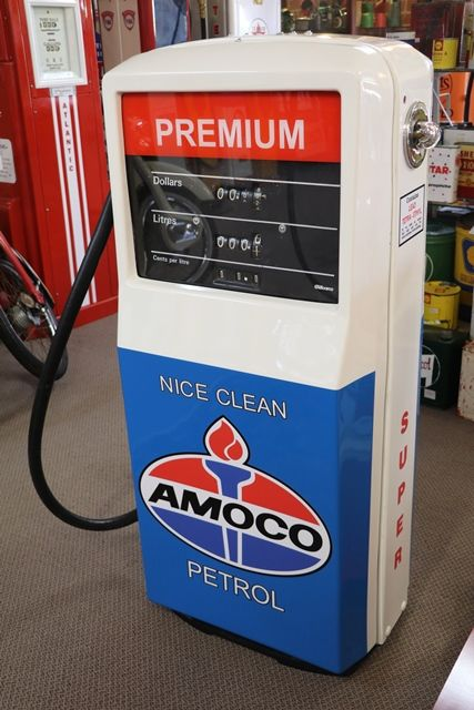 Restored Gilbarco Sales Maker Petrol Pump   | XXXX Antique