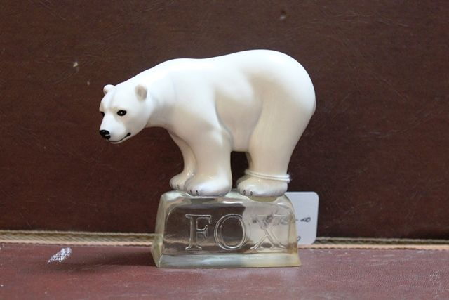 Royal Doulton Fox Polar Bear Porcelain Figure