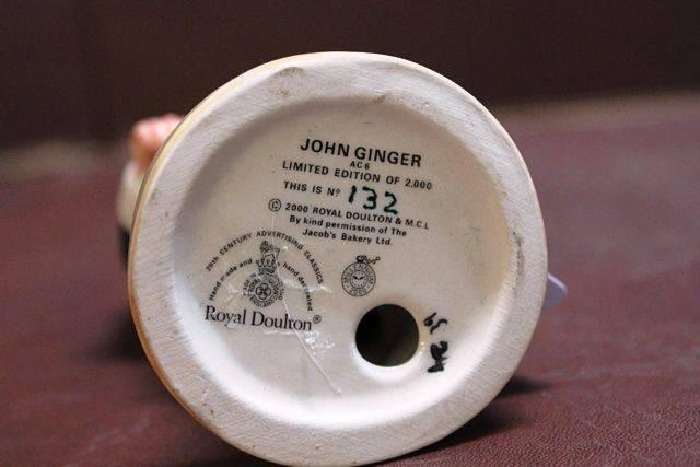 Royal Doulton John Ginger Porcelain Figure