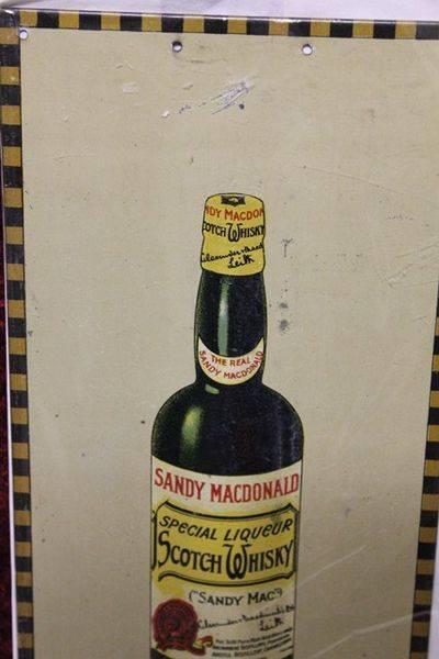 Sandy Mac Tin Advertising Sign