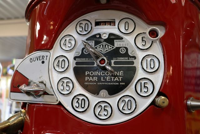 Satam 4 Cylinder Double Manual Petrol Pump