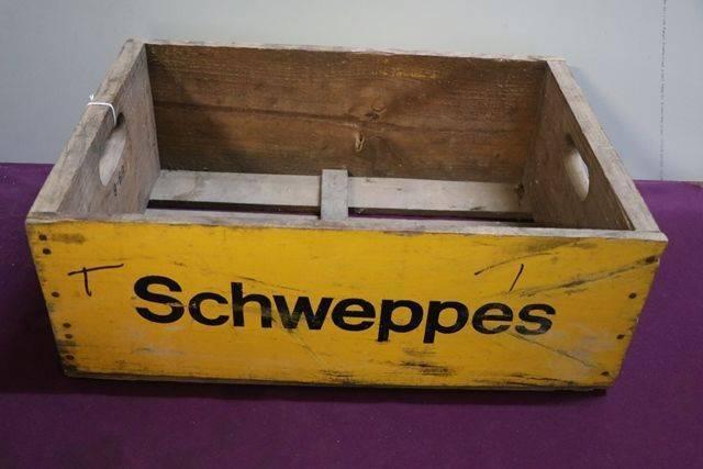 Schweppes Bottle Crate