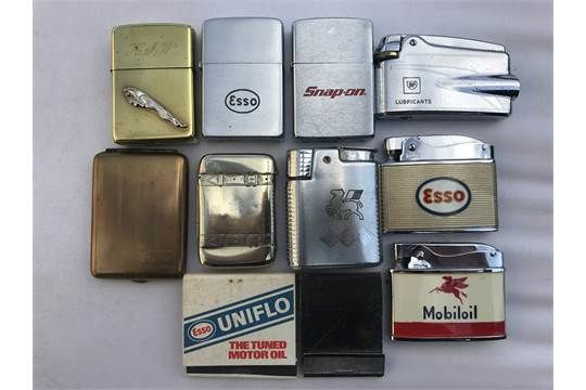 Selection of Motor Related Cigarette Lighters