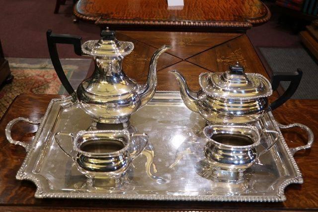 Set of 5 Pieces Tea Service