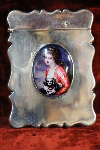 Sheffield Silver 1912 Card Case