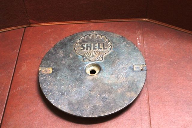 Shell Cast Iron Tank Cover