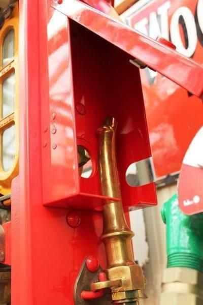 Shellmex Restored Petrol Pump