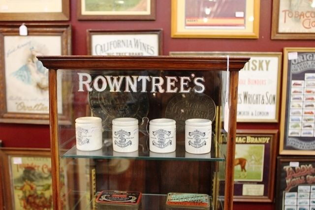 Small Rowntrees Shop Display Cabinet
