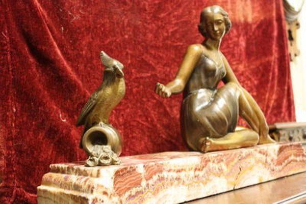 Stunning Art Deco Bronze Figure C1925