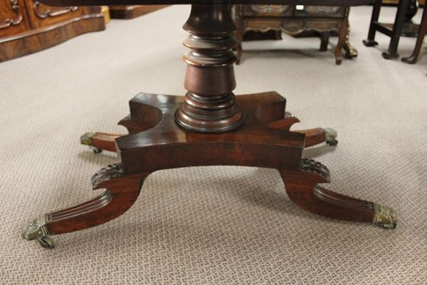 Stunning Regency Mahogany Pembroke Table C1810