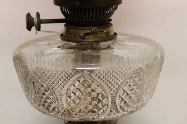 Stunning Victorian Banquet Lamp C1885