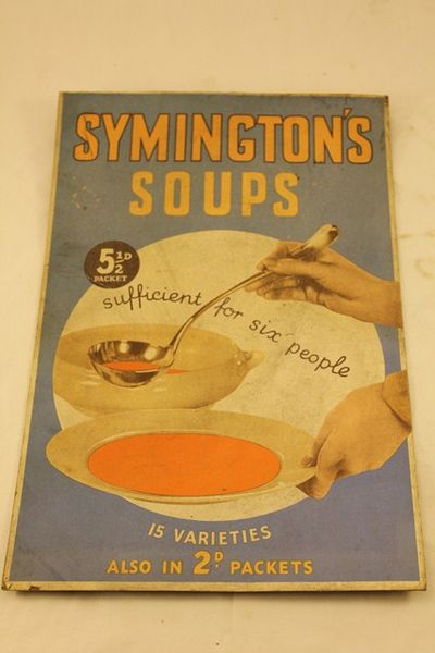 Symingtons Soups AD Card
