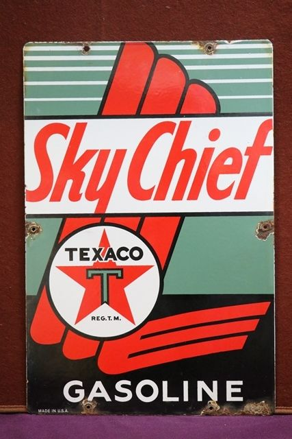 Texaco Sky Chief Advertising Sign