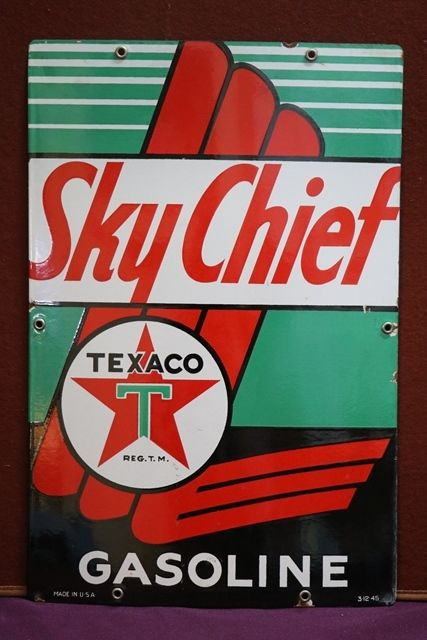 Texaco Sky Chief Advertising Sign