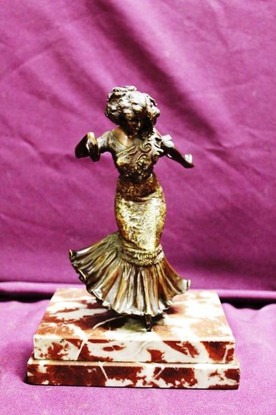 The Spanish Dancer  Bronze Figure