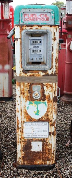 Themis BP Electric Petrol Pump For Restoration