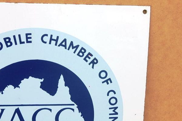 VACC Enamel Sign