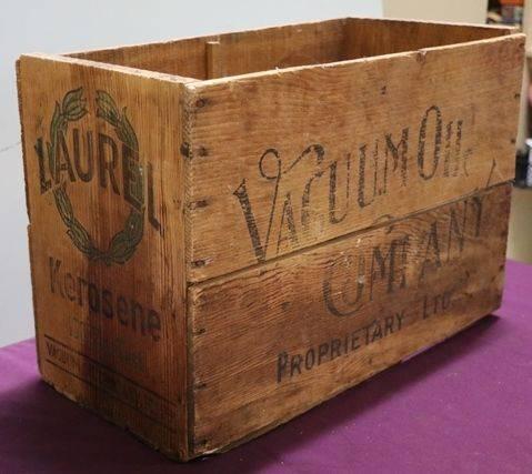 Vacuum Wood Box