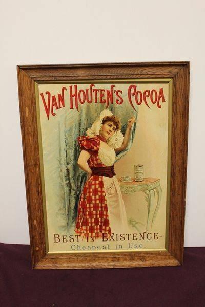 Van Houtens Cocoa Framed Print