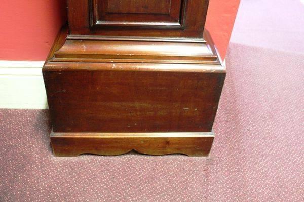 Victorian 30hr Scottish Mahogany Long Case Clock