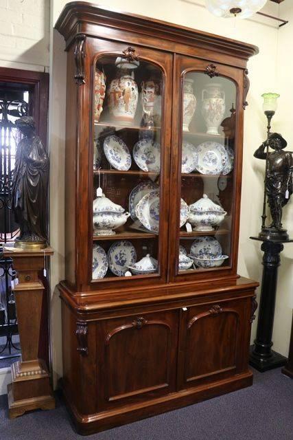 Victorian Library Bookcase