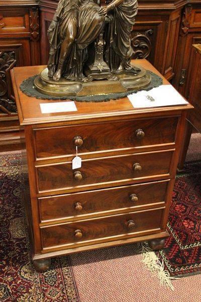 Victorian Mahogany Commode all original C1860