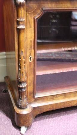 Victorian Music Cabinet Secretaire