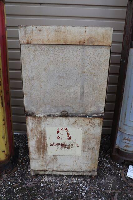 Vintage Garage One Pump Breadbin Dispensing Cabinet