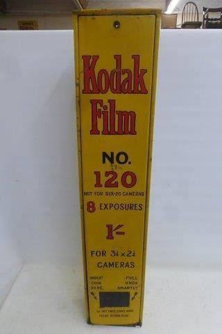 Vintage Kodak Film Wall Dispenser