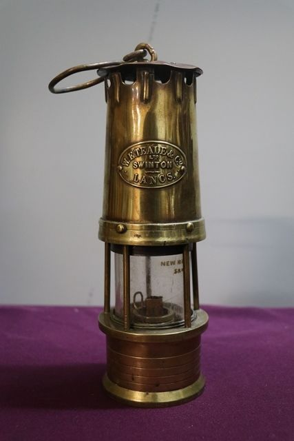 WETeale Swinton All Brass Miners Lamp
