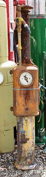 Wayne 205 Unrestored Petrol Pump C1915