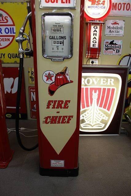 Wayne AS70 Texaco Fire Chief Petrol Pump
