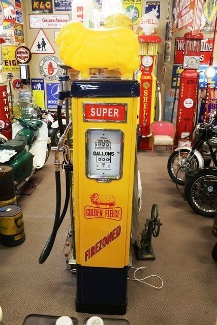 Well Restored Wayne AS70 PetrolPump