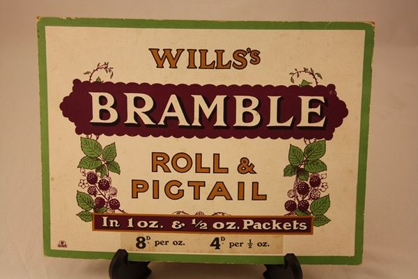 Wills Bramble Cigarette Ad Card