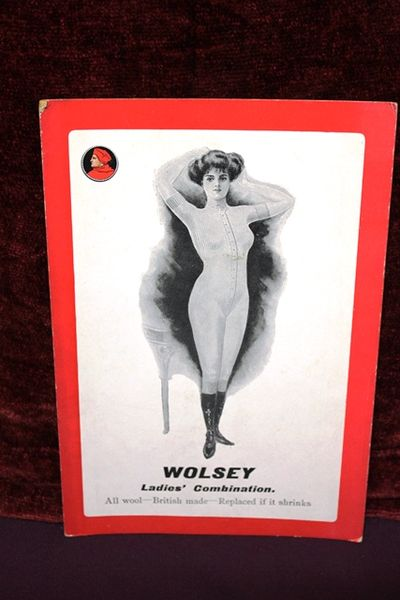 Wolsey Ladies Combination Shop Advertising Card