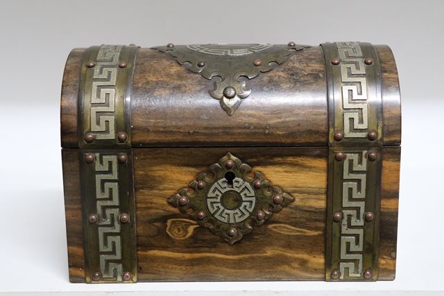 Wonderful Victorian Coromandel Trinket Box