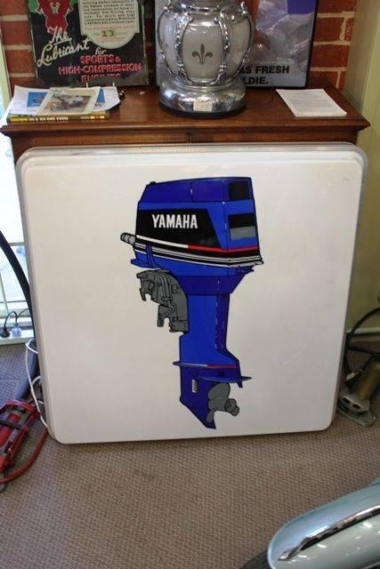 Yamaha Outboard Motor LightBox