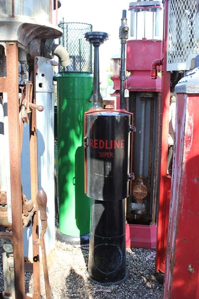 Milwaukee Tank Works Petrol Pump