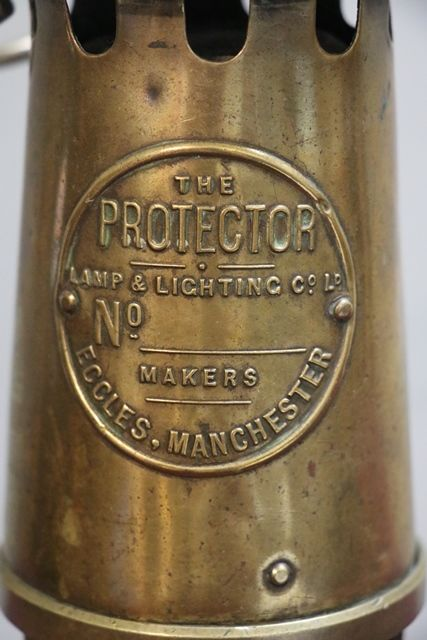 the Protector By Eccles Miners Lamp